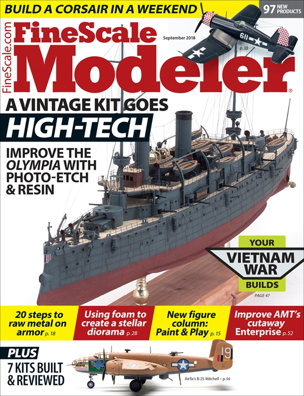 FineScale Modeler September 2018