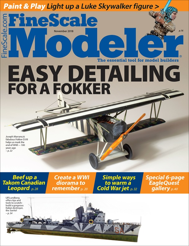FineScale Modeler November 2018