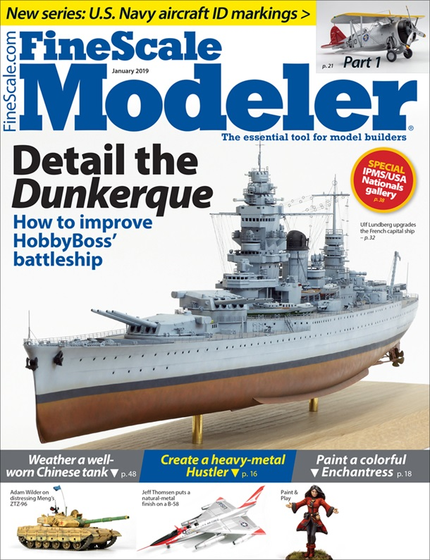 FineScale Modeler January 2019