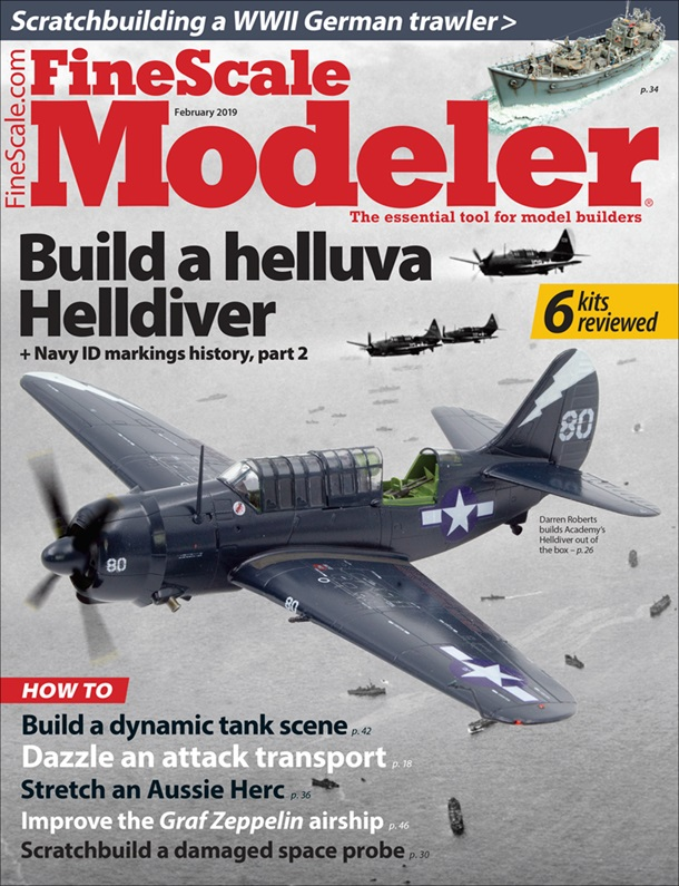 FineScale Modeler February 2019