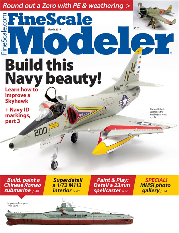 FineScale Modeler March 2019