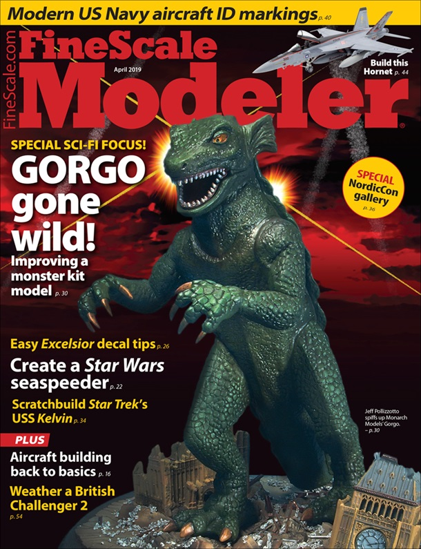 FineScale Modeler April 2019