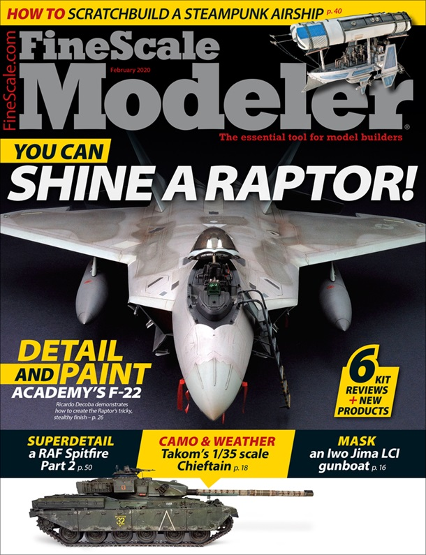 FineScale Modeler February 2020