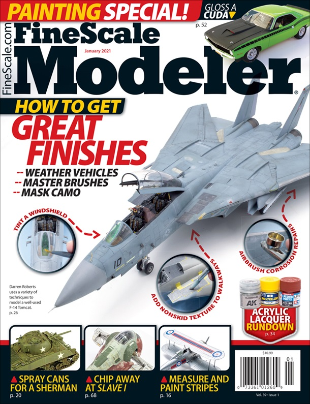 FineScale Modeler January 2021