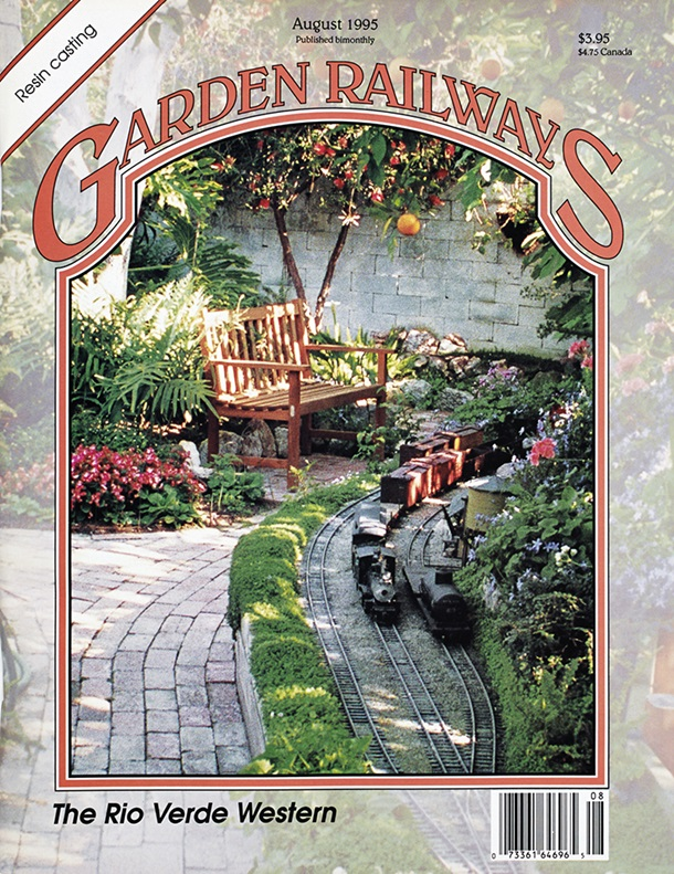 Garden Railways August 1995