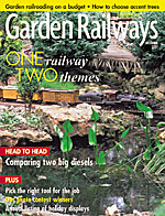 Garden Railways December 2002
