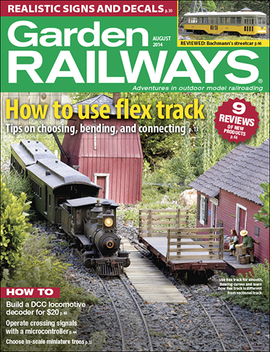 Garden Railways August 2014