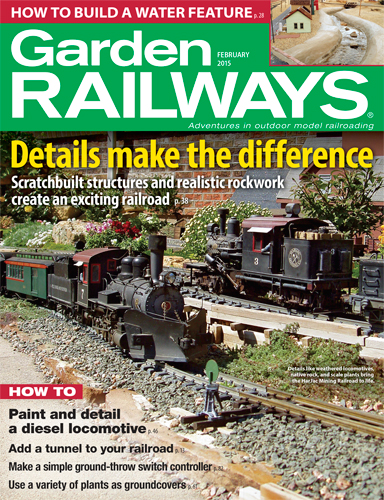 Garden Railways February 2015
