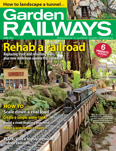 Garden Railways April 2015