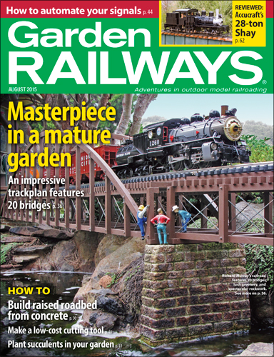 Garden Railways August 2015
