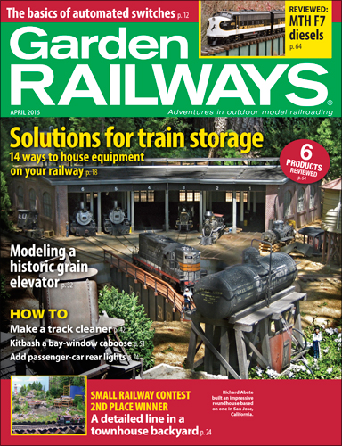 Garden Railways April 2016