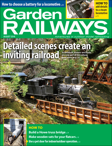 Garden Railways Aug 2016