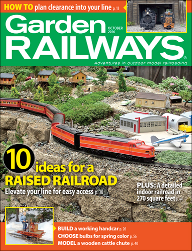 Garden Railways Oct 2016