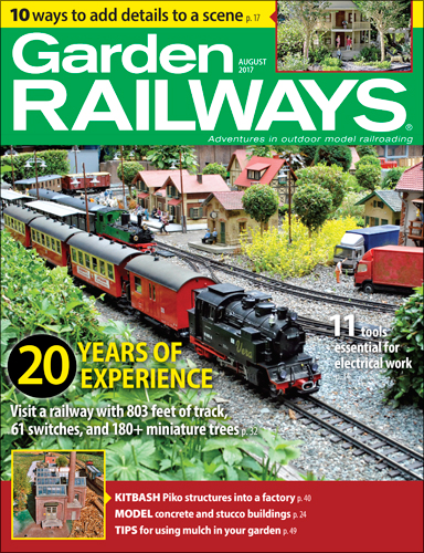 Garden Railways August 2017