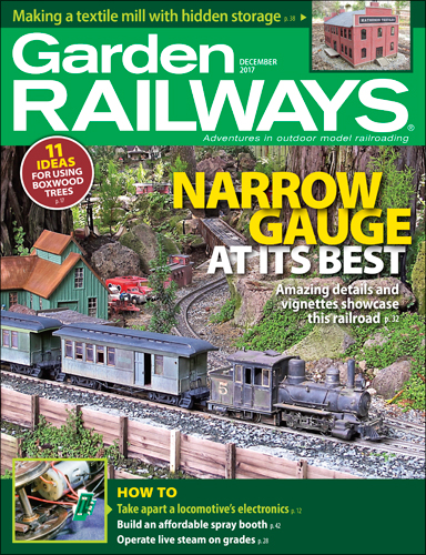 Garden Railways December 2017