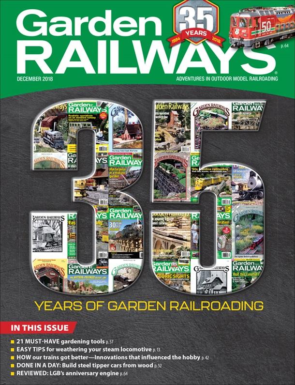 Garden Railways December 2018