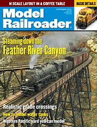 Model Railroader September 2001