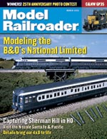 Model Railroader March 2002
