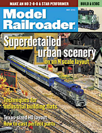 Model Railroader May 2002