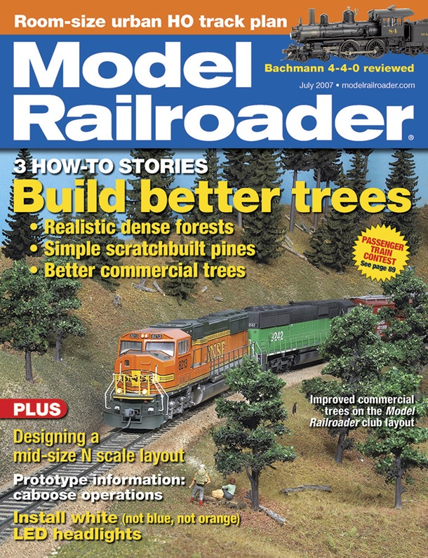 Model Railroader July 2007