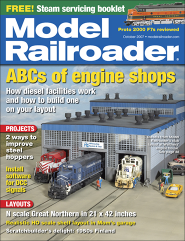 Model Railroader October 2007