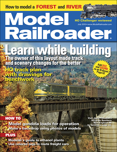 Model Railroader July 2010