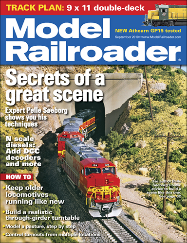 Model Railroader September 2010