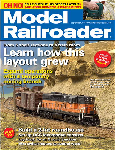 Model Railroader September 2011