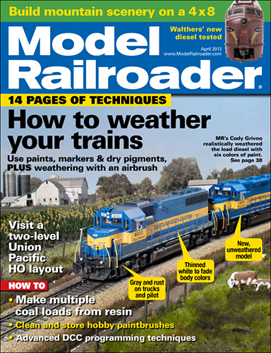 Model Railroader April 2012