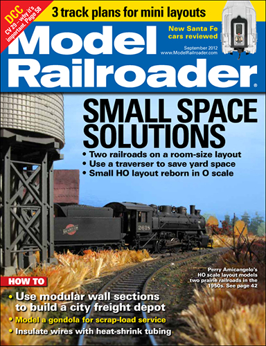 Model Railroader September 2012