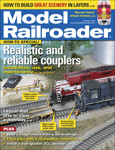 Model Railroader October 2013