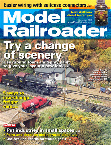 Model Railroader Dec 2016