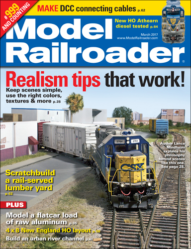 Model Railroader March 2017