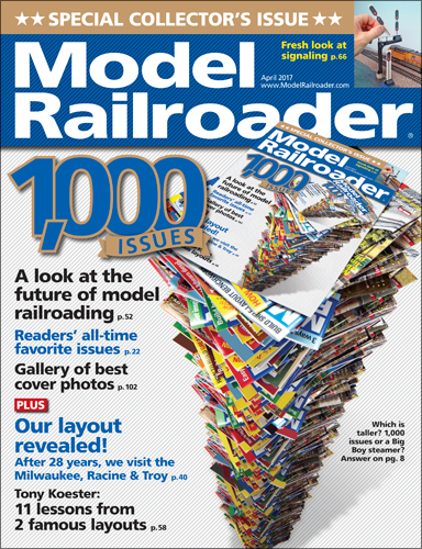 Model Railroader April 2017