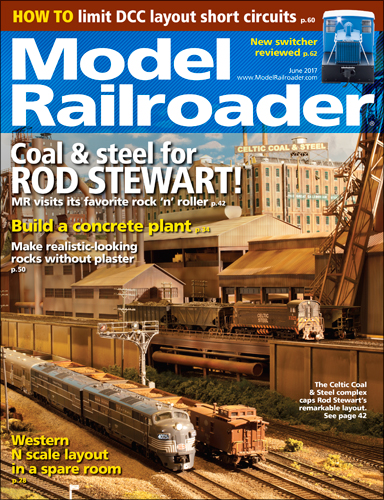 Model Railroader June 2017