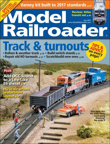 Model Railroader July 2017