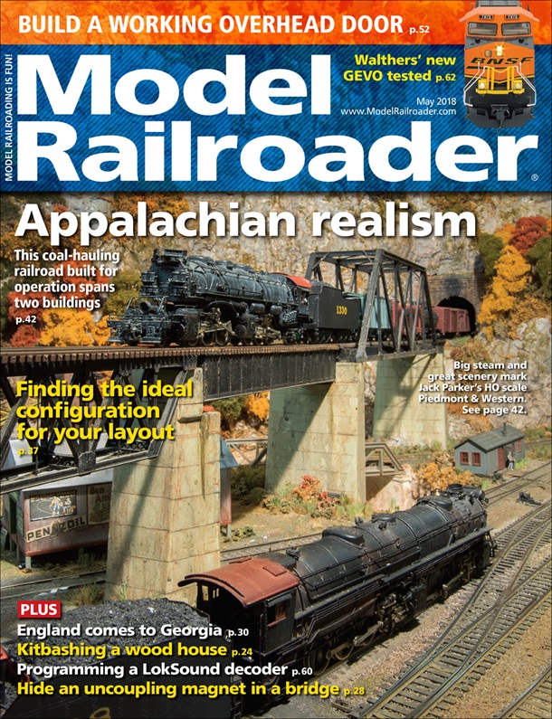 Model Railroader May 2018