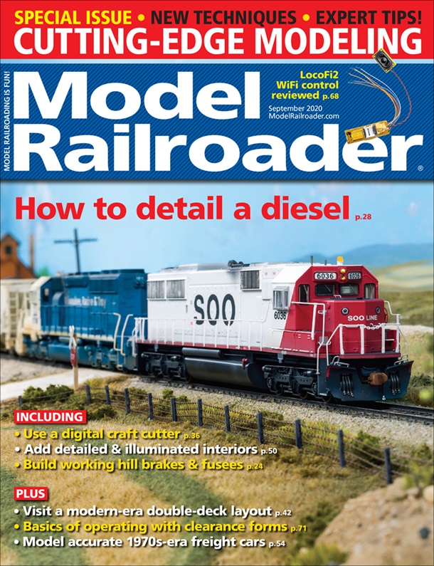Model Railroader September 2020