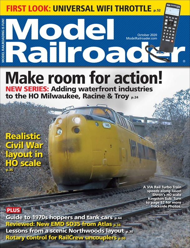 Model Railroader October 2020