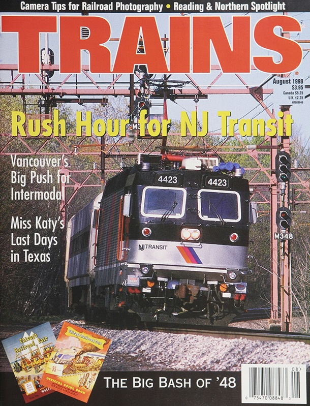 TRAINS August 1998