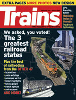 TRAINS January 2007