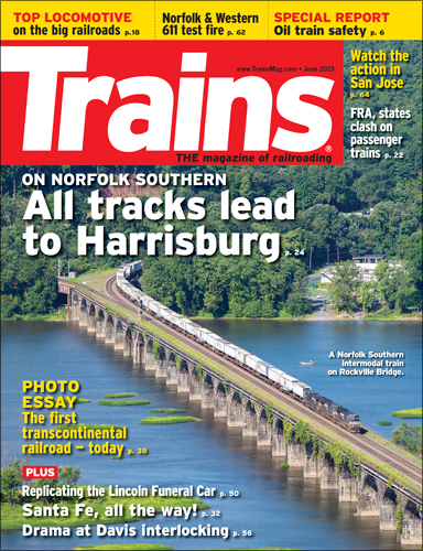 Trains June 2015
