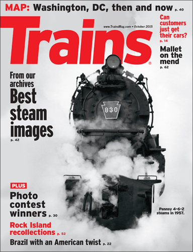 Trains October 2015