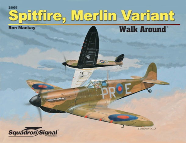 Spitfire Merlin Variant Walk Around