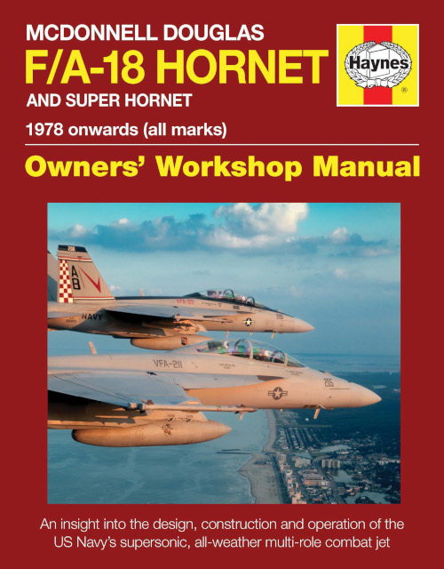 Haynes F/A-18 Hornet Owners' Workshop Manual