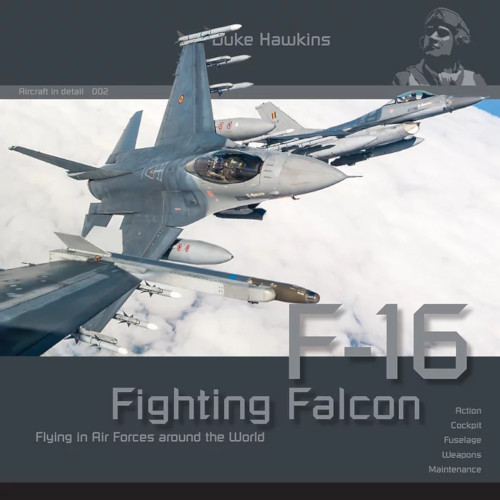 Duke Hawkins F-16 Fighting Falcon
