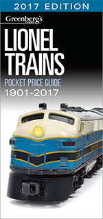 Lionel Trains Pocket Price Guide 1901-2017