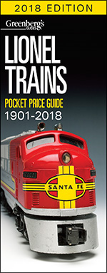 Lionel Trains Pocket price Guide 1901-2018