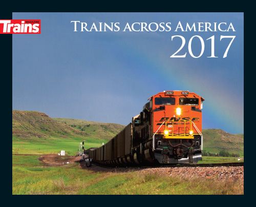 Trains Across America 2017 Calendar
