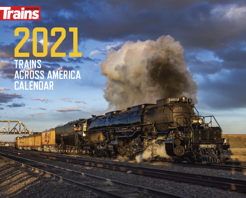 Trains Across America 2021 Calendar